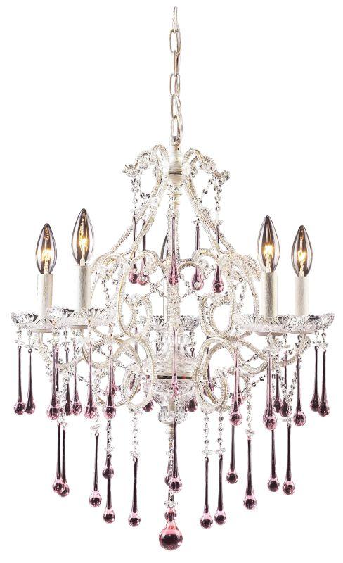 Elk Lighting 4002/5 Opulence 5 Light 1 Tier Mini Crystal Chandelier Sale $550.00 ITEM: bci73413 ID#:4002/5RS UPC: 748119400273 :