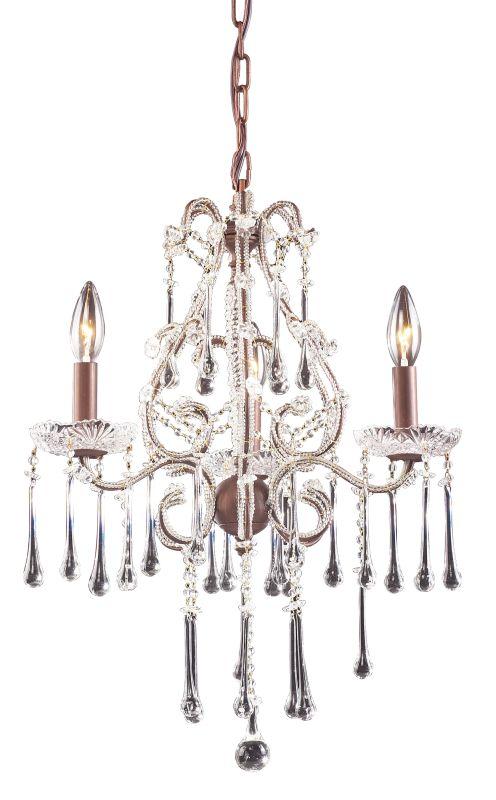 Elk Lighting 4011/3 Opulence 3 Light 1 Tier Mini Crystal Chandelier Sale $328.00 ITEM: bci73519 ID#:4011/3CL UPC: 748119401133 :