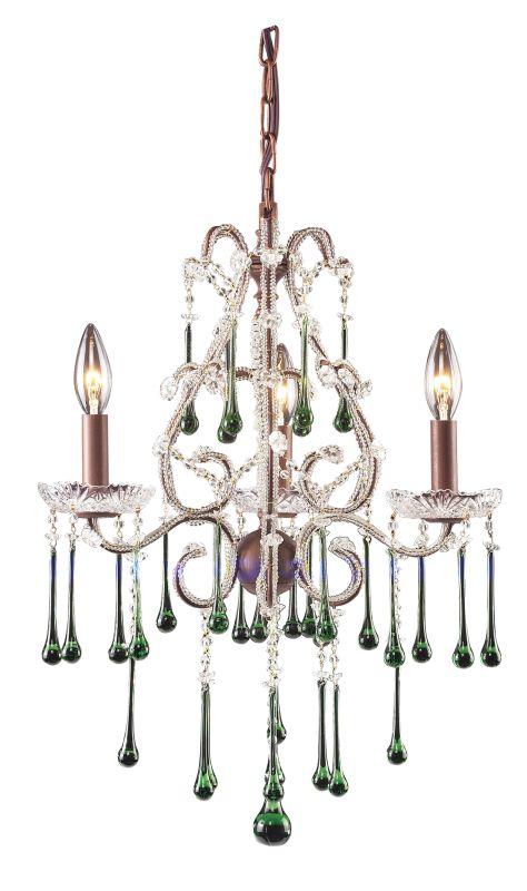 Elk Lighting 4011/3 Opulence 3 Light 1 Tier Mini Crystal Chandelier Sale $328.00 ITEM: bci73520 ID#:4011/3LM UPC: 748119401157 :