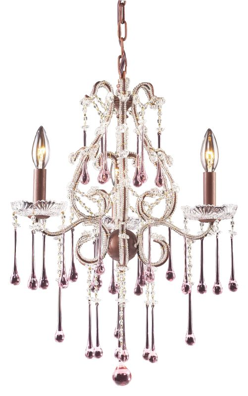 Elk Lighting 4011/3 Opulence 3 Light 1 Tier Mini Crystal Chandelier Sale $328.00 ITEM: bci73521 ID#:4011/3RS UPC: 748119401171 :