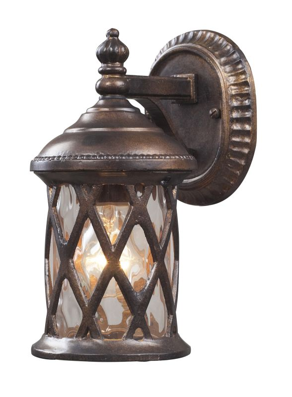 Elk Lighting 42036/1 Barrington Gate 1 Light Outdoor Wall Sconce Sale $160.00 ITEM: bci857123 ID#:42036/1 UPC: 748119021119 :