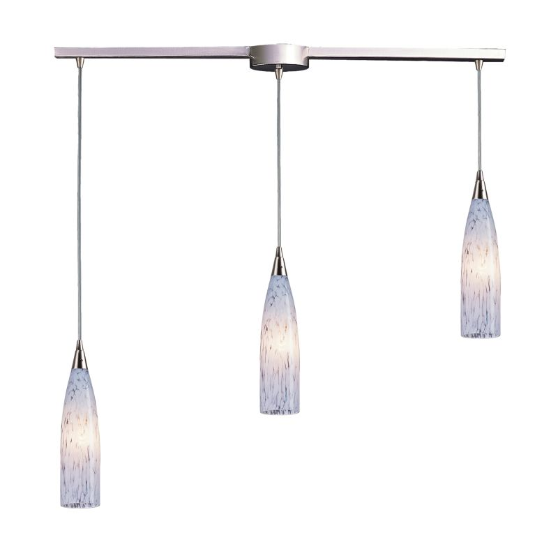 "Elk Lighting 501-3L Lungo 3 Light 36"" Wide Linear Pendant with"