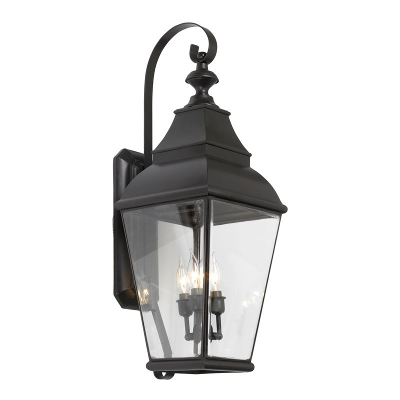 Elk Lighting 5216-C Bristol Charcoal 3 Light 31 Inch Tall Outdoor Wall