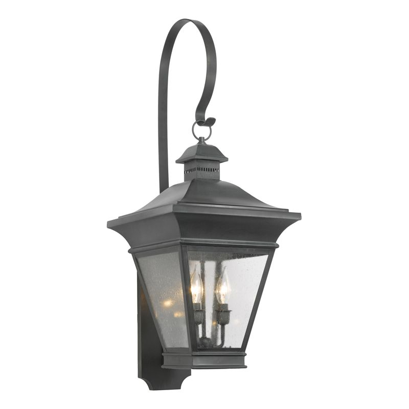 Elk Lighting 5237-C Reynolds Charcoal 3 Light 35 Inch Tall Outdoor