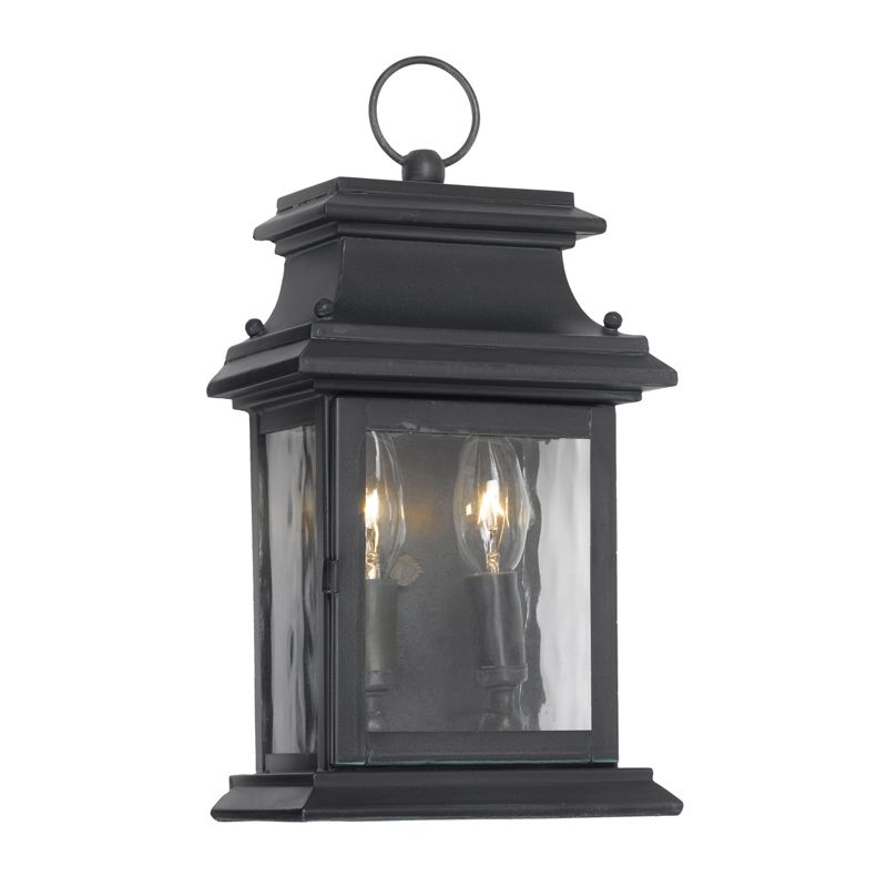 Elk Lighting 5726-C Provincial Charcoal 2 Light 14 Inch Tall Outdoor