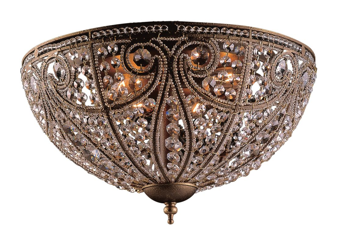 Elk Lighting 5963/6 Crystal Flushmount Ceiling Fixture from the Sale $456.00 ITEM: bci89499 ID#:5963/6 UPC: 748119596365 :