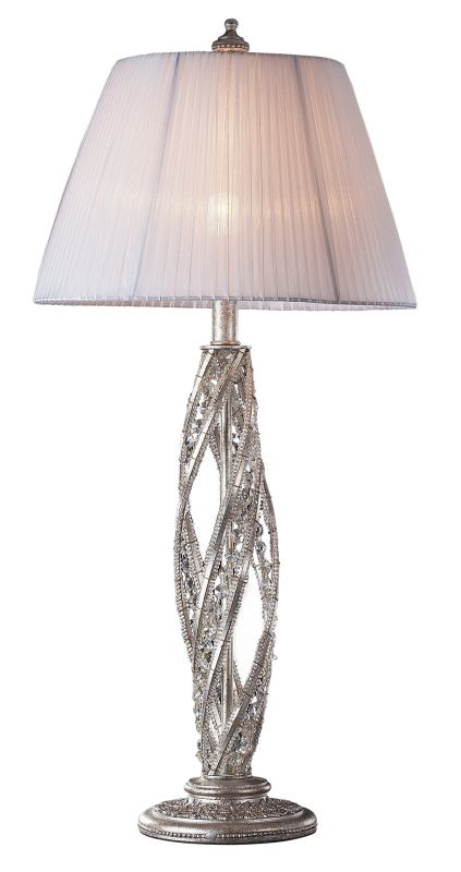Elk Lighting 6231/1 Crystal Table Lamp from the Renaissance Collection