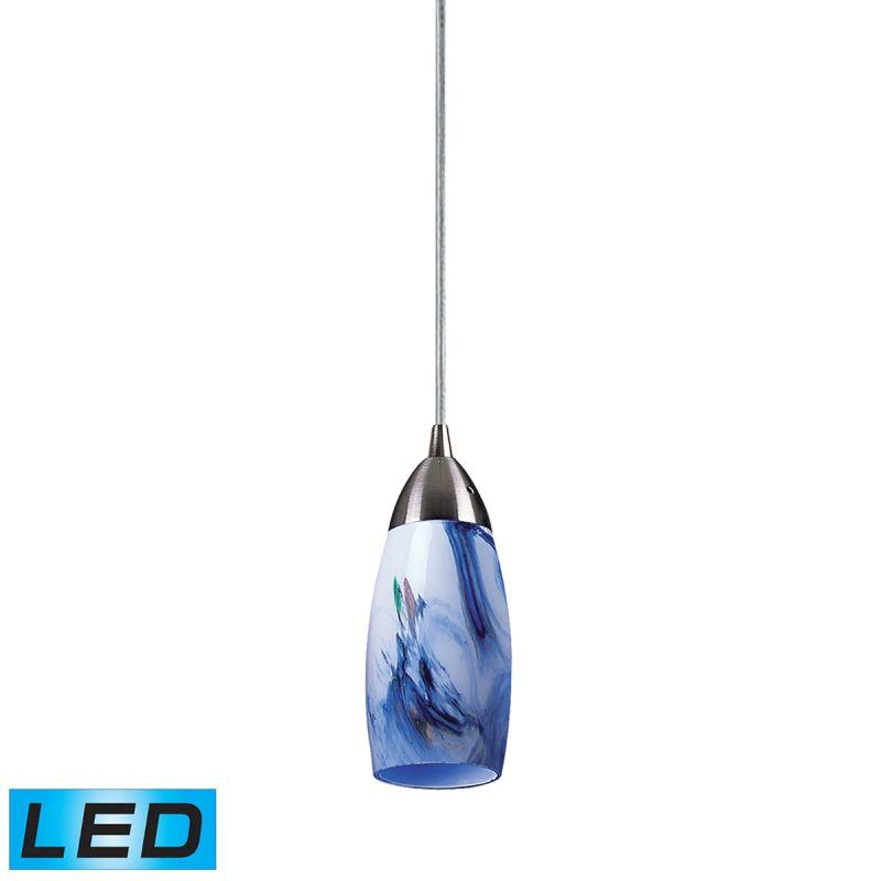 """Elk Lighting 110-1-LED Milan Single Light 3"""" Wide LED Mini Pendant"""