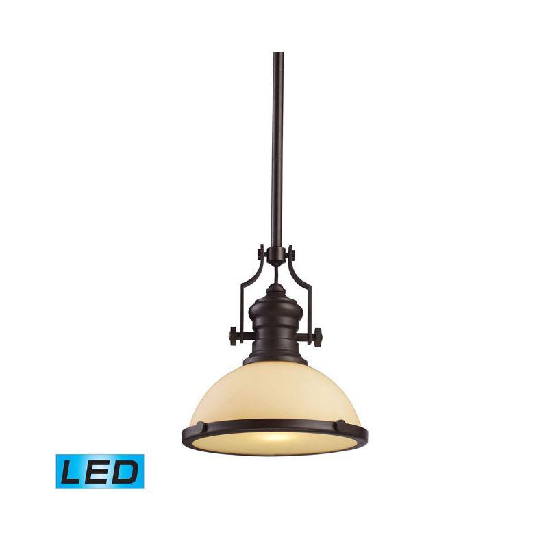 "Elk Lighting 66133-1-LED Chadwick Single Light 13"" Wide LED Pendant"