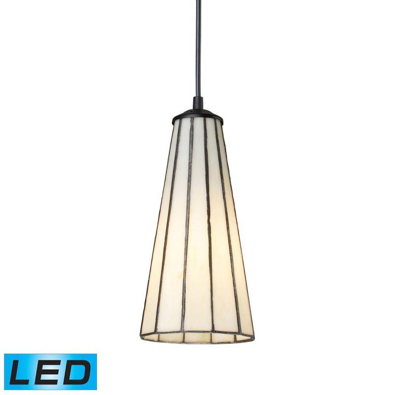 """Elk Lighting 70000-1-LED Lumino Single Light 5"""" Wide LED Mini Pendant"""