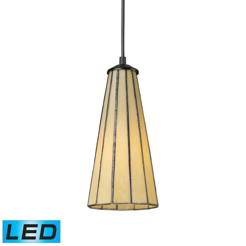 "Elk Lighting 70000-1-LED Lumino Single Light 5"" Wide LED Mini Pendant"