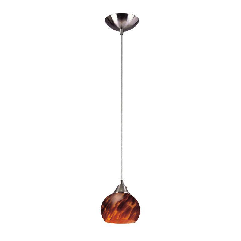 "Elk Lighting 101-1-LED Mela Single Light 6"" Wide LED Mini Pendant with"