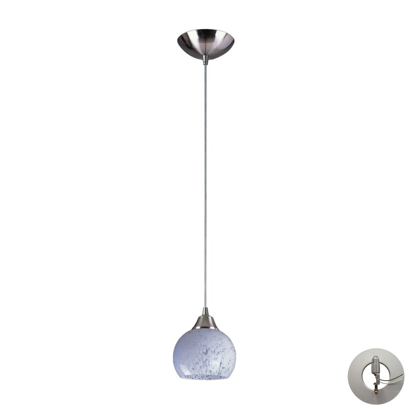 "Elk Lighting 101-1-LA Mela Single Light 6"" Wide Instant Pendant with"