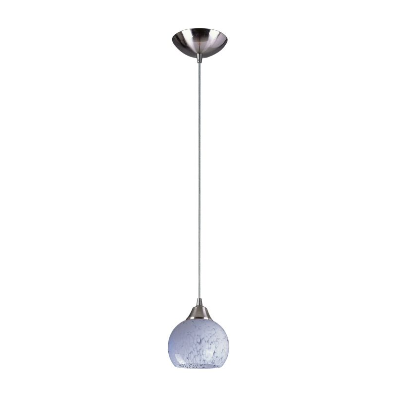 "Elk Lighting 101-1-LED Mela Single Light 6"" Wide LED Mini Pendant with"