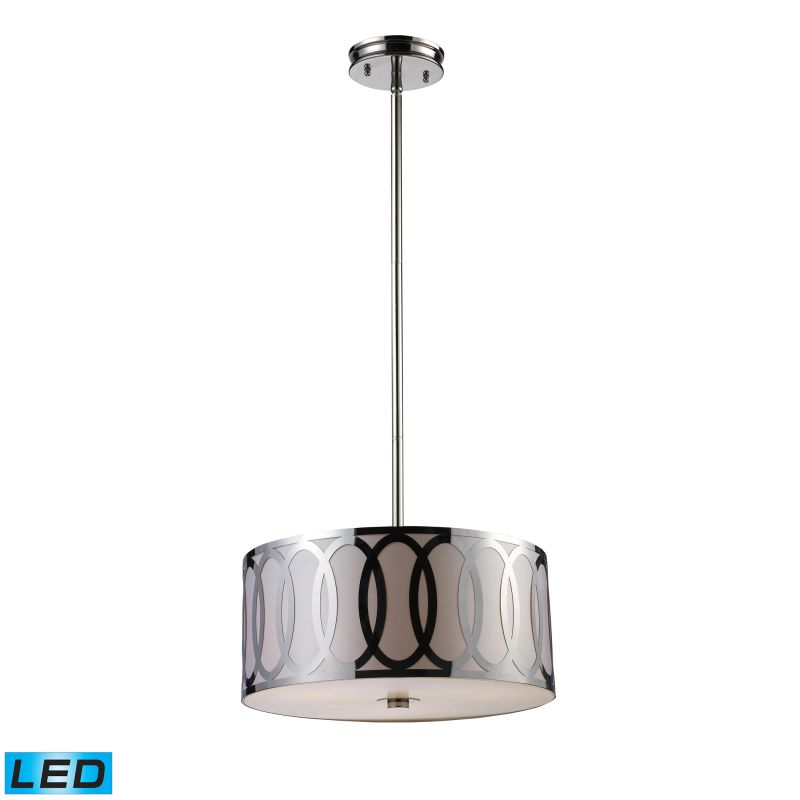 "Elk Lighting 10173/3-LED Anastasia 3 Light 18"" Wide LED Pendant with"