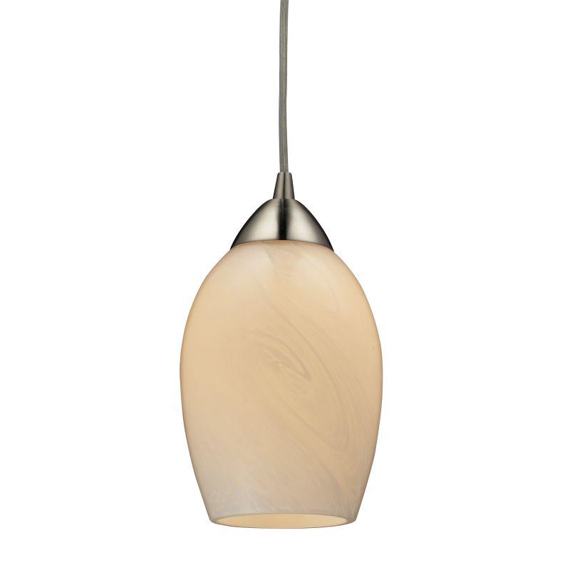 "Elk Lighting 10222/1 Favela Single Light 5"" Wide Mini Pendant with"