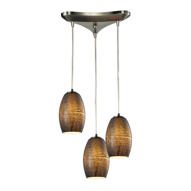 Elk Lighting 10330/3TM Andover 3 Light Multi Light Pendant Satin Sale $456.00 ITEM: bci2346664 ID#:10330/3TM UPC: 748119063997 :