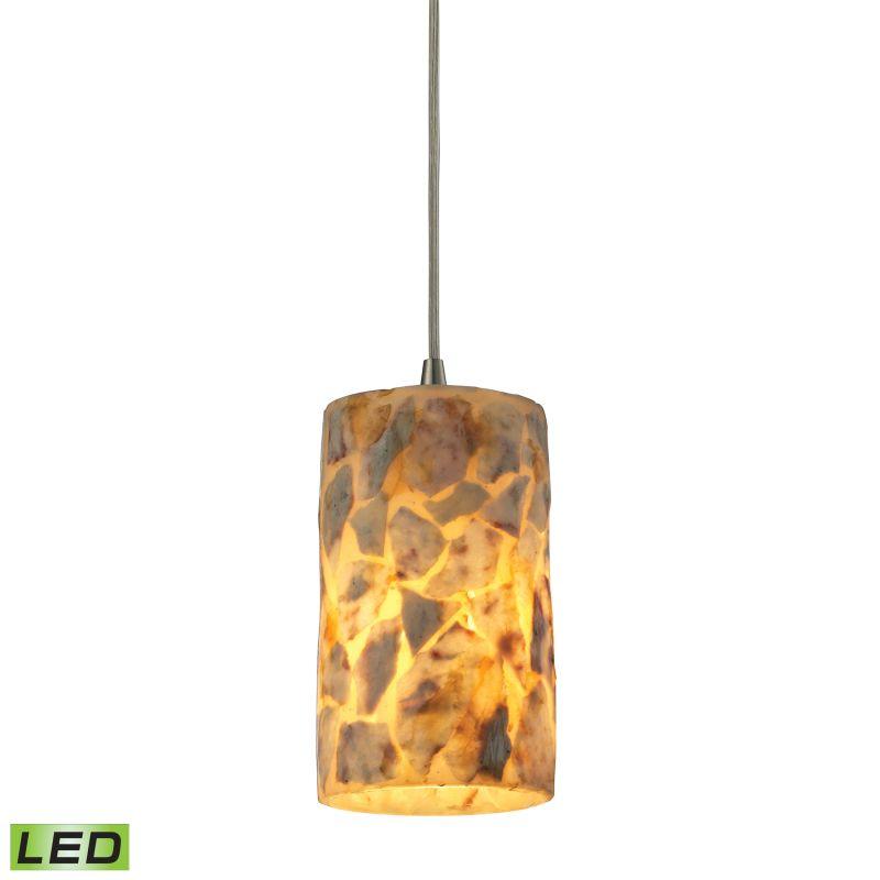 Elk Lighting 10339/1-LED Rocklidge 1 Light LED Mini Pendant Satin