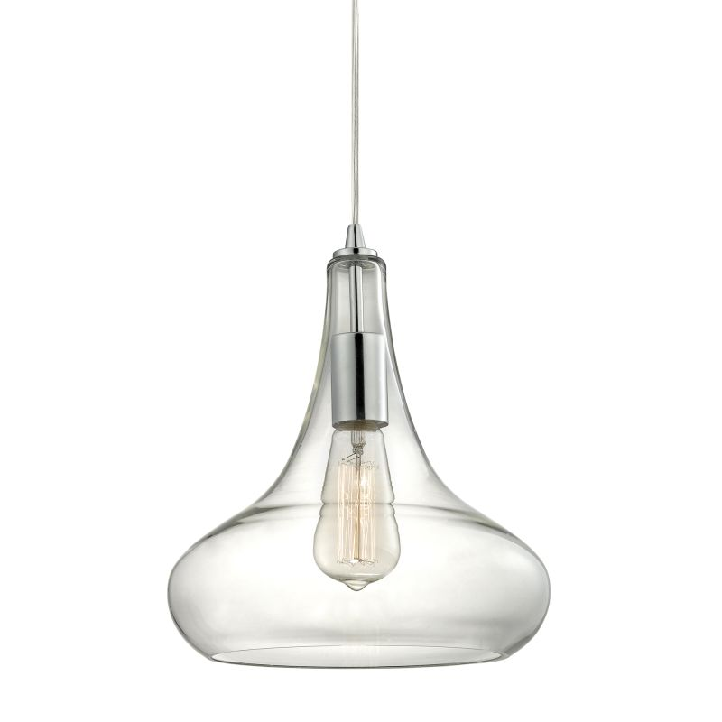 "Elk Lighting 10422/1 Orbital Single Light 10"" Wide Mini Pendant with"