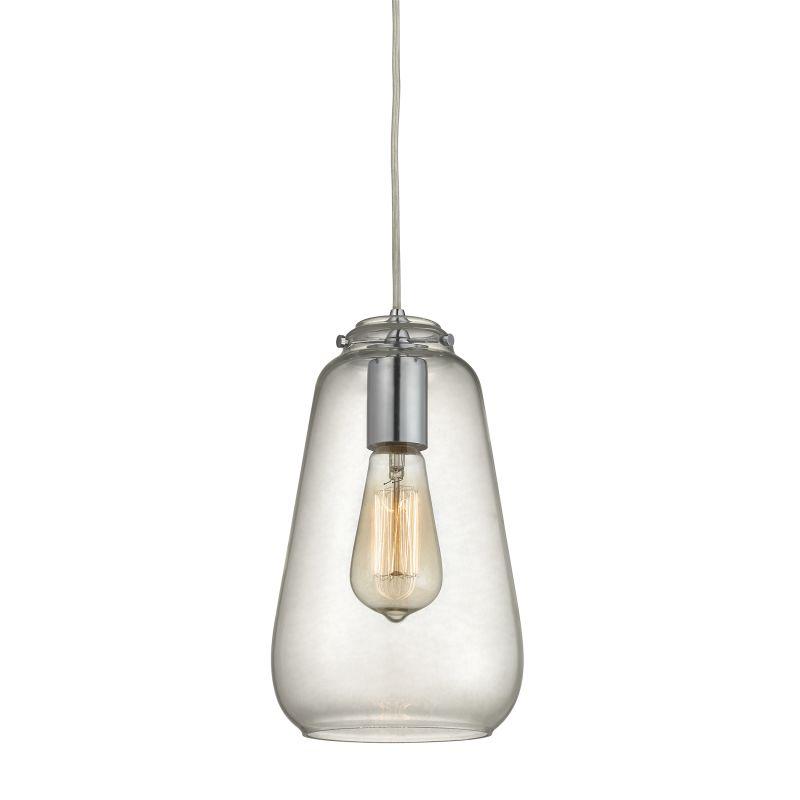 "Elk Lighting 10423/1 Orbital Single Light 6"" Wide Mini Pendant with"