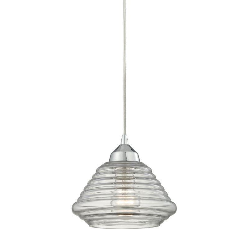 "Elk Lighting 10424/1 Orbital Single Light 8"" Wide Mini Pendant with"