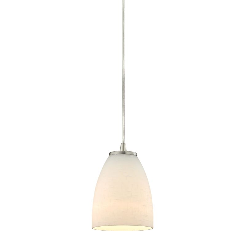"Elk Lighting 10466/1 Sandstorm Single Light 5"" Wide Mini Pendant with"