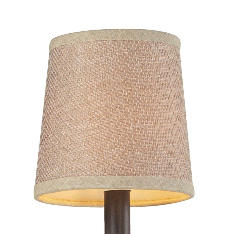 "Elk Lighting 1093 5"" Diameter Fabric Shade from the Veronica"