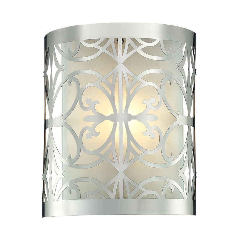 Elk Lighting 11430/1 Willow Bend 1 Light Wall Sconce Polished Chrome
