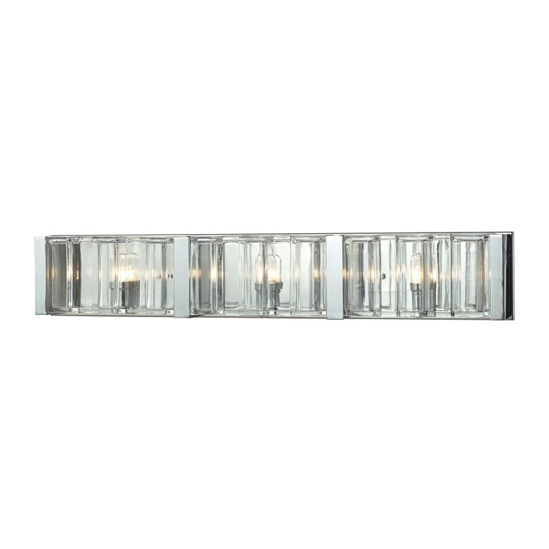 Elk Lighting 11517/3 Corrugated Glass 3 Light Bathroom Vanity Light Sale $378.00 ITEM: bci2614938 ID#:11517/3 UPC: 748119084589 :