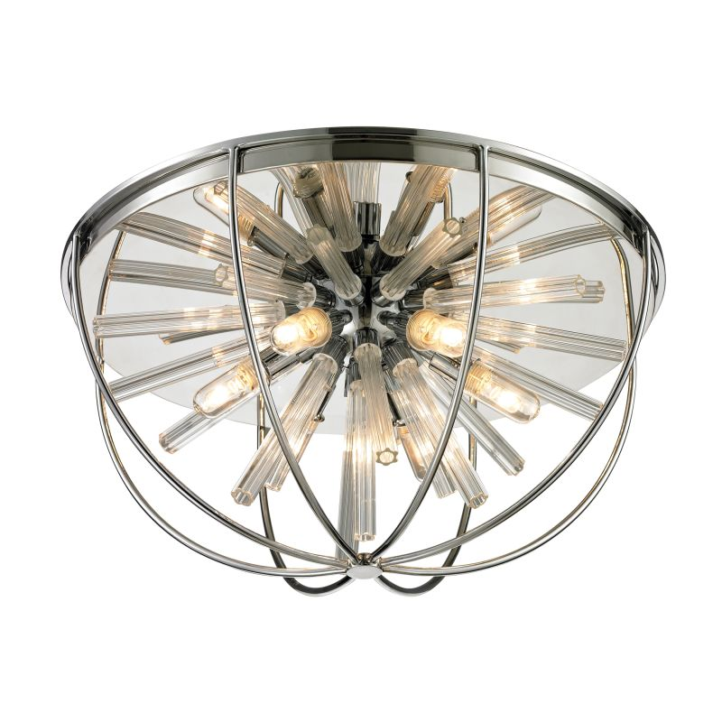 Elk Lighting 11561/6 Twilight 6 Light Flush Mount Ceiling Fixture Sale $506.00 ITEM: bci2351559 ID#:11561/6 UPC: 748119065113 :