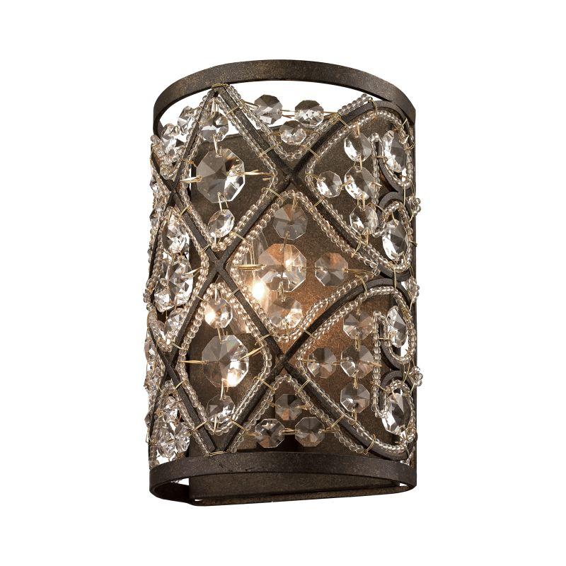 Elk Lighting 11584/1 Amherst 1 Light Bathroom Sconce Antique Bronze