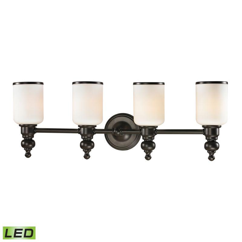 """Elk Lighting 11593/4-LED Bristol Way 4 Light 29"""" LED Vanity Fixture Sale $372.00 ITEM: bci2351581 ID#:11593/4-LED UPC: 748119072845 :"""