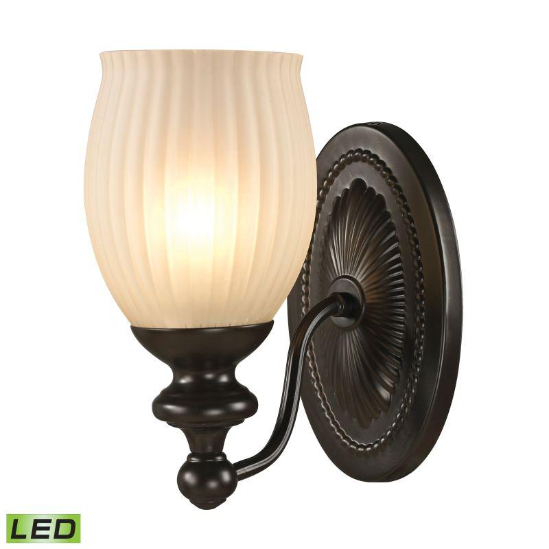 """Elk Lighting 11650/1-LED Park Ridge 1 Light 9"""" LED Bathroom Sconce"""