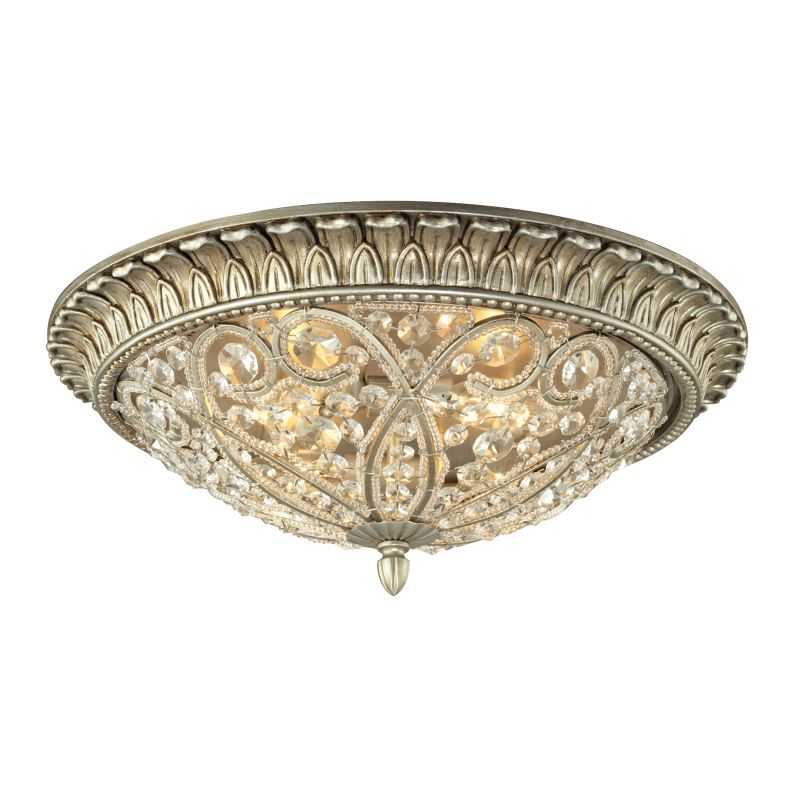 Elk Lighting 11694/4 Andalusia 4 Light Flush Mount Ceiling Fixture