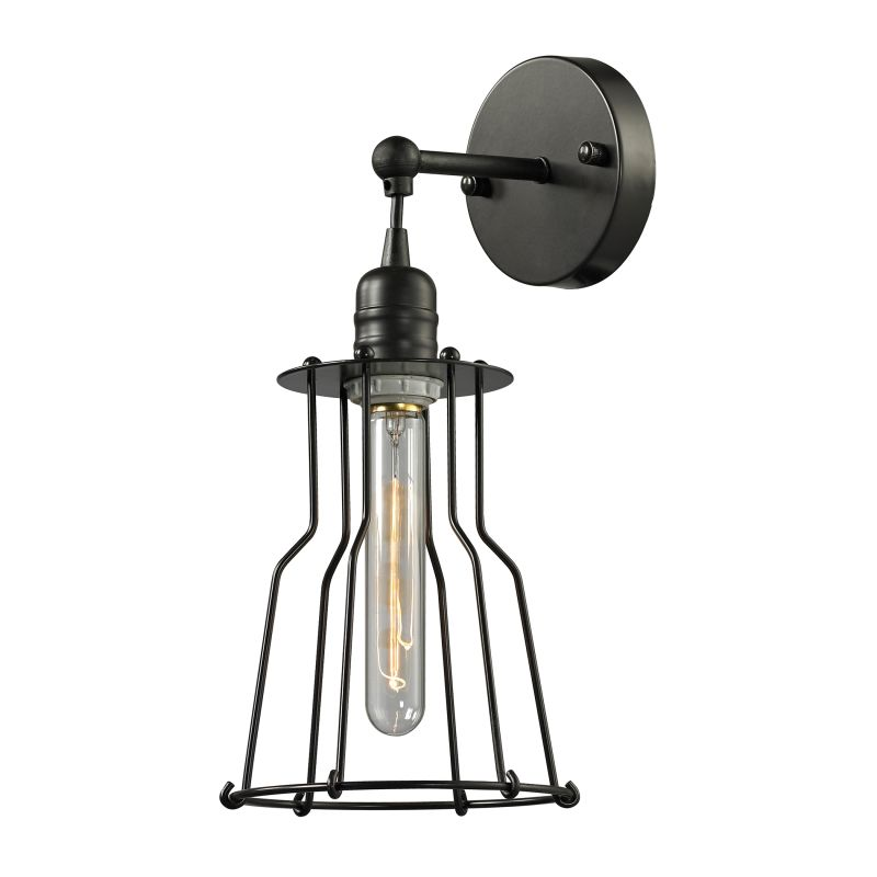 Elk Lighting Yardley: Elk Lighting 14195/1 Oil Rubbed Bronze Yardley 1 Light