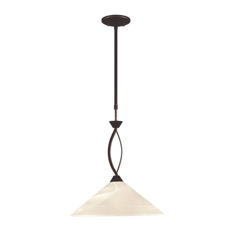 Elk Lighting 16550/1 1 Light Pendant Oil Rubbed Bronze Indoor Lighting