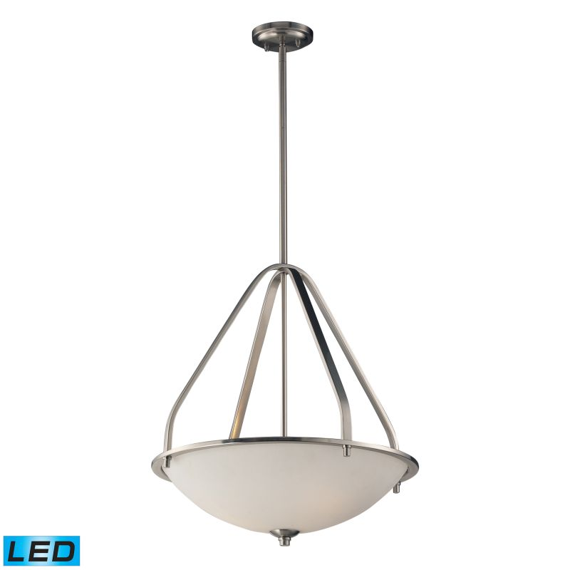 Elk Lighting 17144/3-LED Mayfield 3 Light LED Pendant Brushed Nickel Sale $426.00 ITEM: bci2582597 ID#:17144/3-LED UPC: 748119057637 :