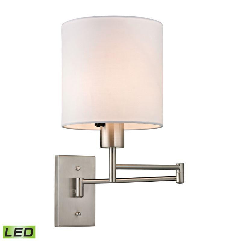 Elk Lighting 17150/1-LED Carson 1 Light LED Swing Arm Wall Sconce