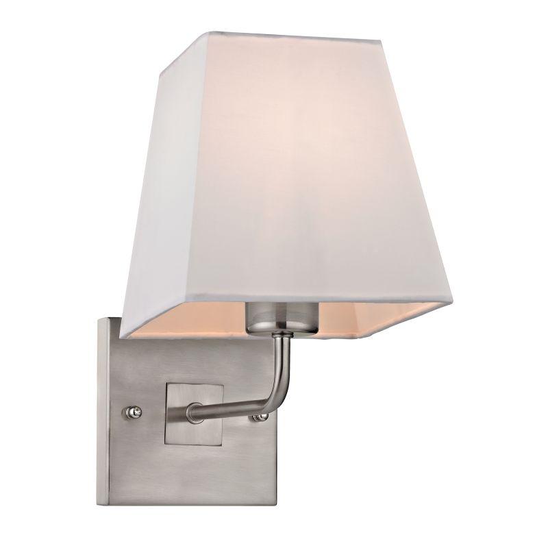 Elk Lighting 17152/1 Beverly 1 Light Wall Sconce Brushed Nickel Indoor