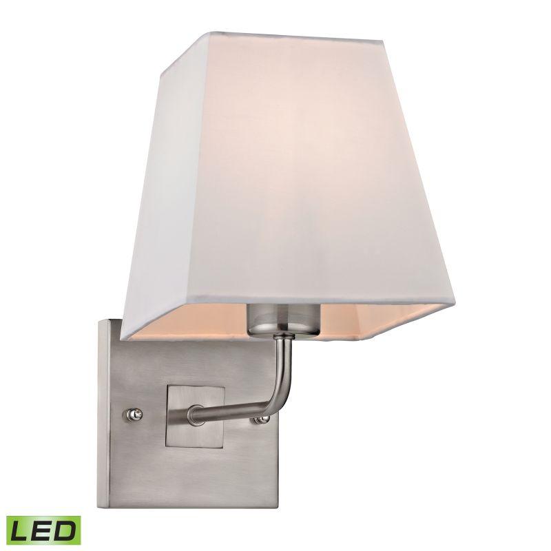 Elk Lighting 17152/1-LED Beverly 1 Light LED Wall Sconce Brushed