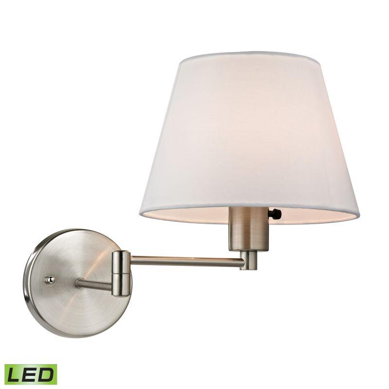 Elk Lighting 17153/1-LED Avenal 1 Light LED Swing Arm Wall Sconce Sale $156.00 ITEM: bci2351686 ID#:17153/1-LED UPC: 748119072180 :