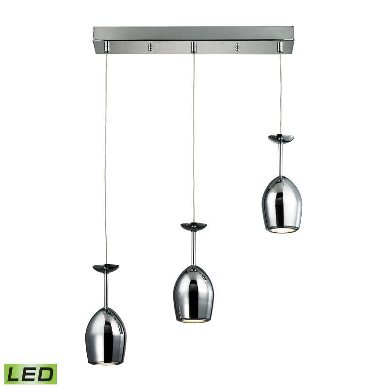 """Elk Lighting 17171/3 Vasso Chromo 3 Light 20"""" Wide Integrated LED"""