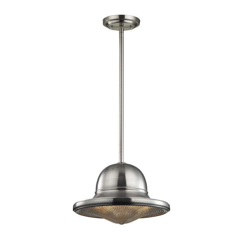 "Elk Lighting 17242/1 Urbano Single Light 13"" Wide Pendant with Round"