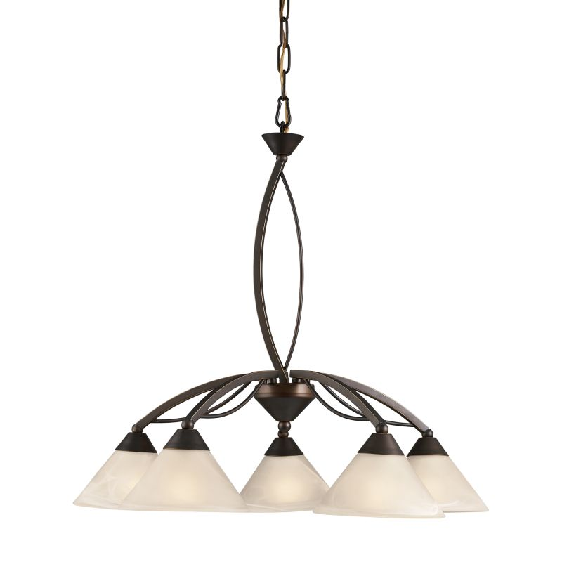 Elk Lighting 17646/5 5 Light Chandelier Oil Rubbed Bronze Indoor Sale $350.00 ITEM: bci2614745 ID#:17646/5 UPC: 748119092218 :