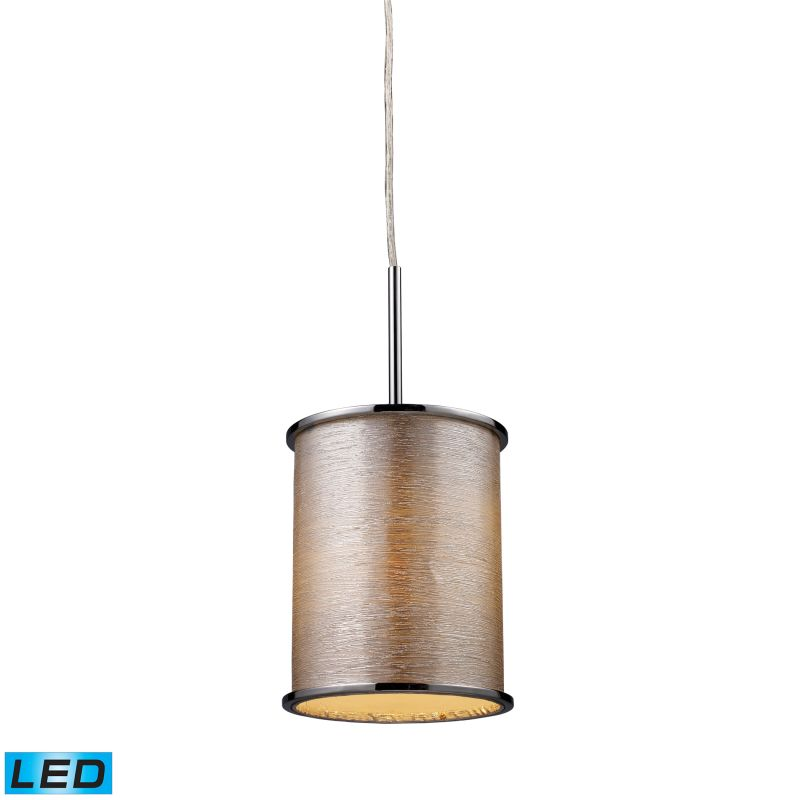 Elk Lighting 20042/1-LED Fabrique 1 Light LED Pendant Polished Chrome