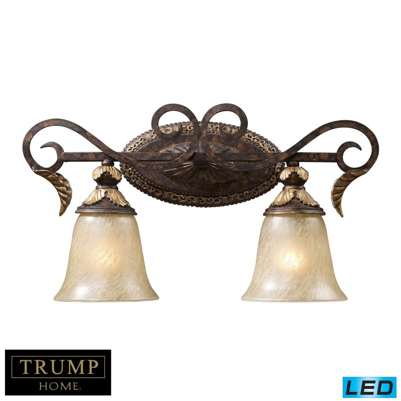 Elk Lighting 2151/2-LED 2 Light LED Bathroom Vanity Light From The Sale $376.00 ITEM: bci2952916 ID#:2151/2-LED UPC: 748119057651 :