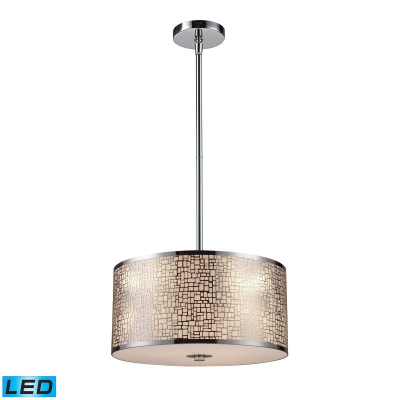 "Elk Lighting 31042/3-LED Medina 3 Light 16"" Wide LED Pendant with"
