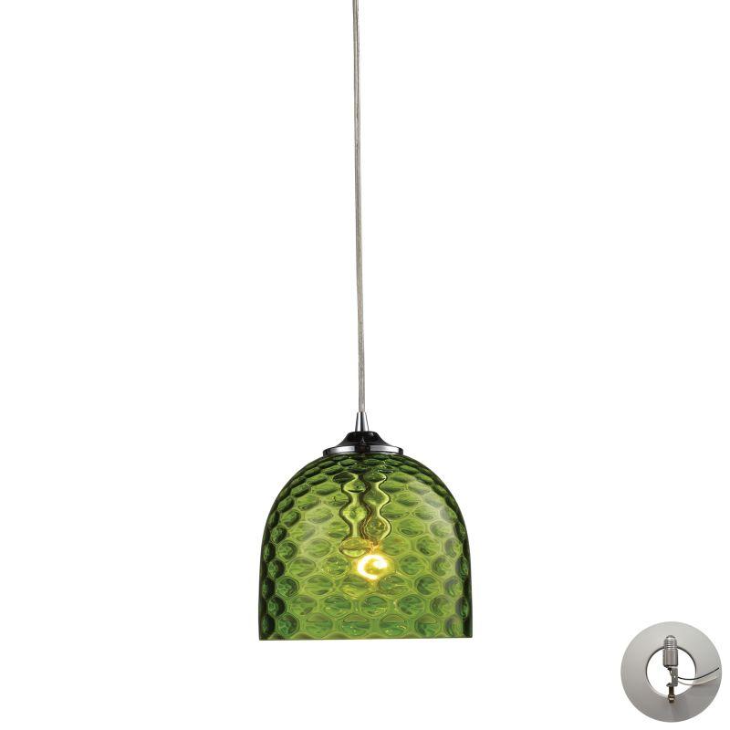 "Elk Lighting 31080/1-LA Viva Single Light 7"" Wide Instant Pendant with"