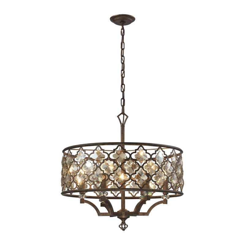 Elk Lighting 31097/6 Armand 6 Light Pendant Weathered Bronze Indoor Sale $1198.00 ITEM: bci2614769 ID#:31097/6 UPC: 748119085449 :