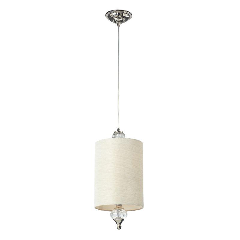 "Elk Lighting 31302/1 Dalton Single Light 8"" Wide Mini Pendant with"
